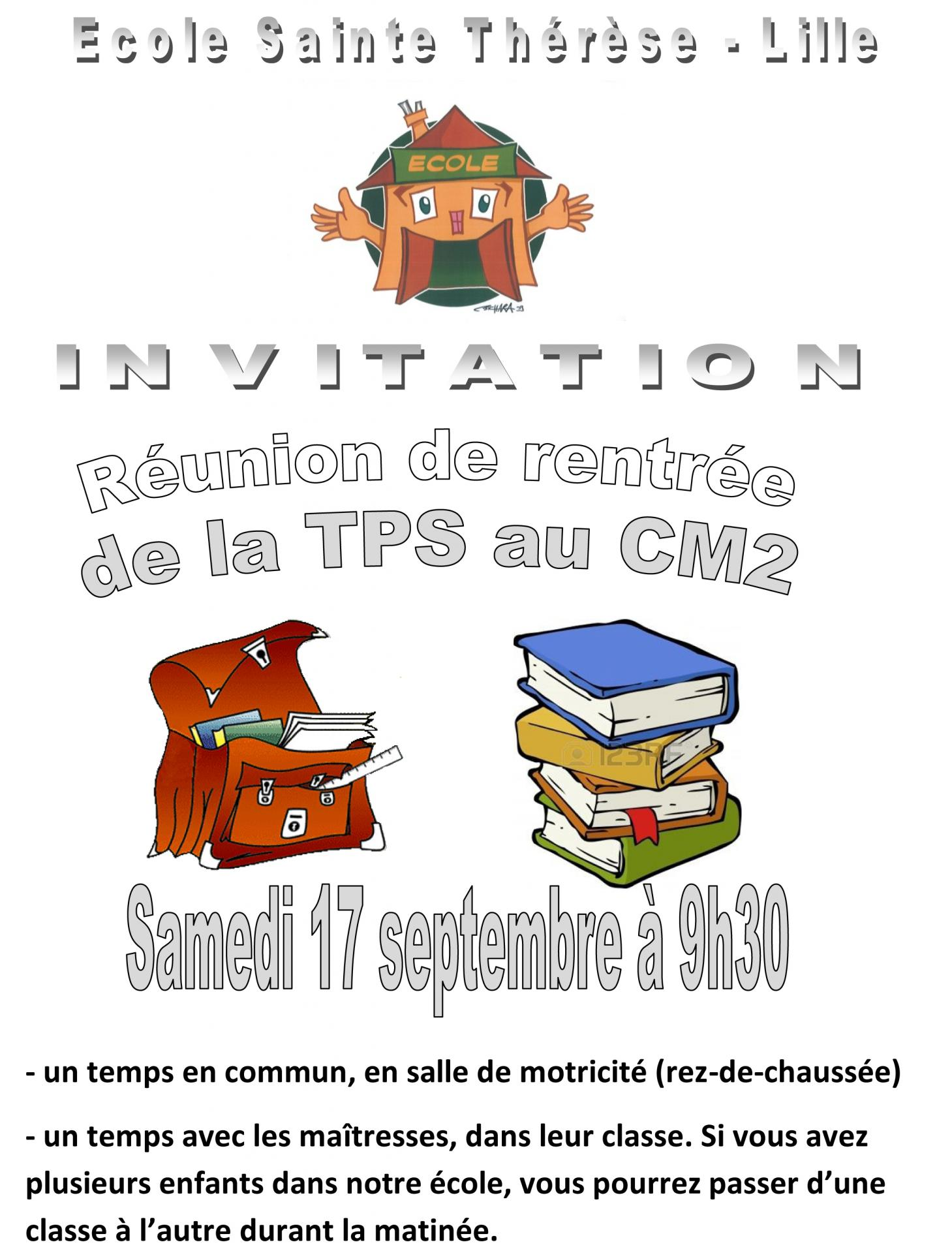 2015 2016 invitation reunion sept